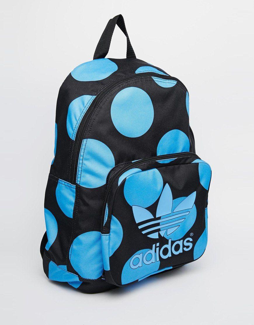 eae371ca2b9 adidas Originals x Pharrell Williams Backpack in Blue Spot | Adidas ...