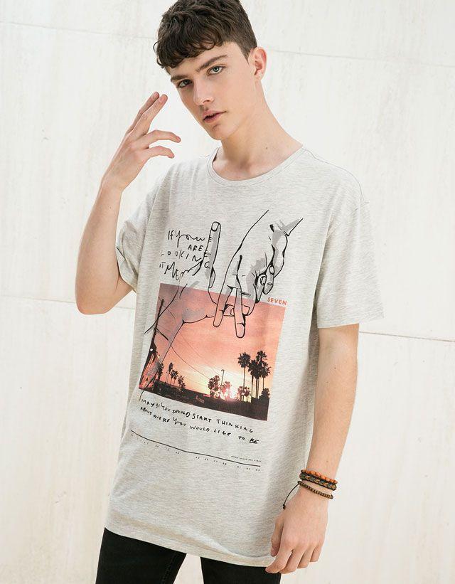 44d22901 Festival Style - MAN - TRENDS - Bershka Netherlands T Shirt Trends 2017,  Coachella Outfit