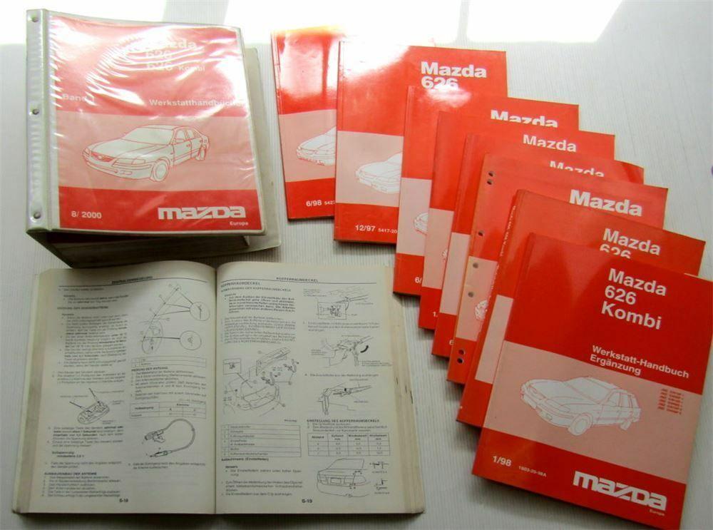Schaltplan Mazda 626 Gw