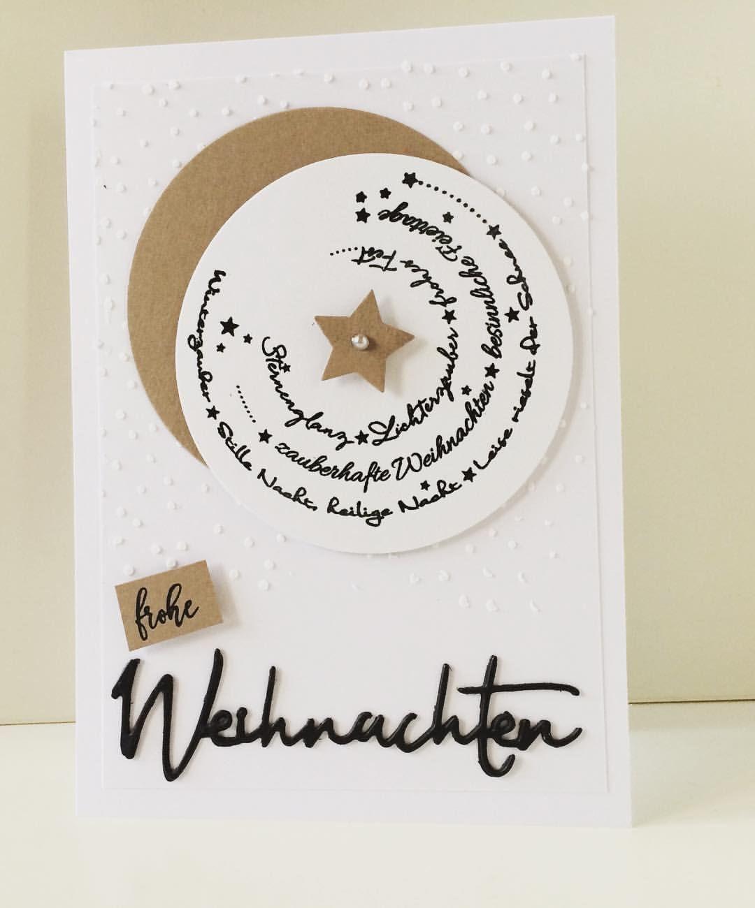 """Gefällt 51 Mal, 3 Kommentare - Friederike (@greteiris) auf Instagram: """"#kartenbasteln #kartengestaltung #weihnachtskarte #cardmaking #christmascard #creativedepot…"""" #Ästeweihnachtlichdekorieren"""