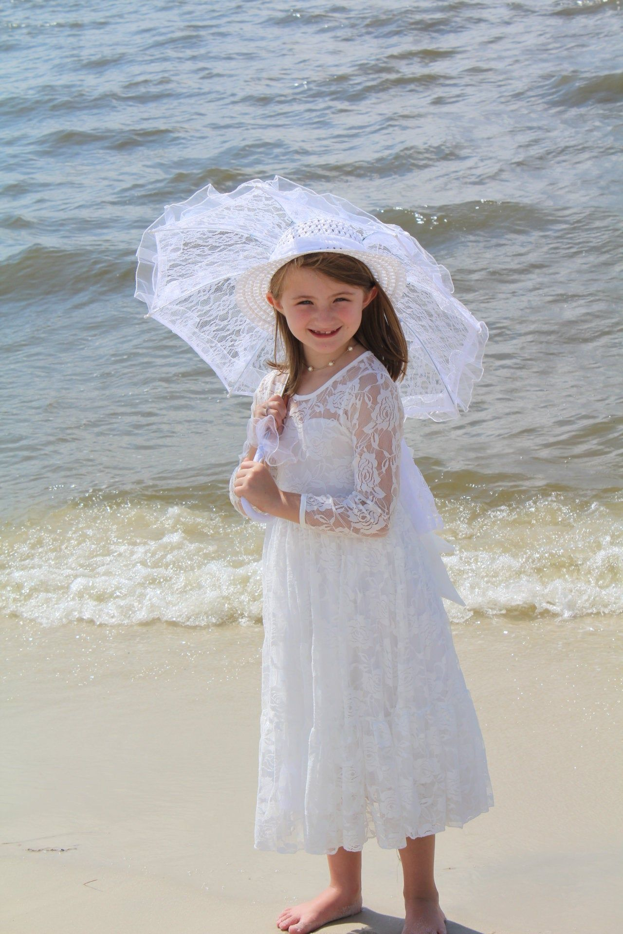 Handmade Lace Dress Girls Toddlers Size 4 5t White Long Lace Sleeves Ready To Ship Free Shipping Beach Photos Girls Dresses Handmade Dresses Childrens Clothes [ 1920 x 1280 Pixel ]