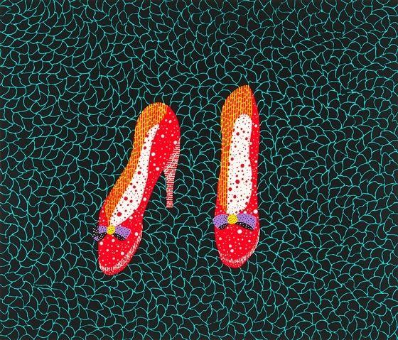 Shoes - Yayoi Kusama