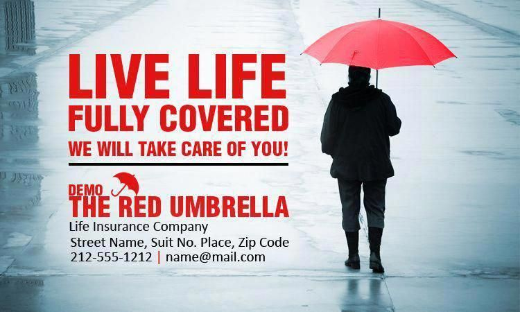 3x5 Custom Life Insurance Magnets 20 Mil Square Corners ...