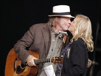 Neil Young and wife, Pegi, married over 30 years | Music in