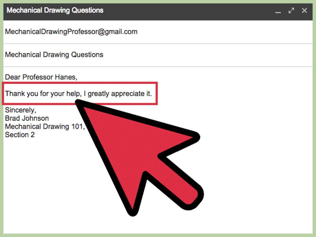 How To Email A Professor Writing Dear Professor Professor