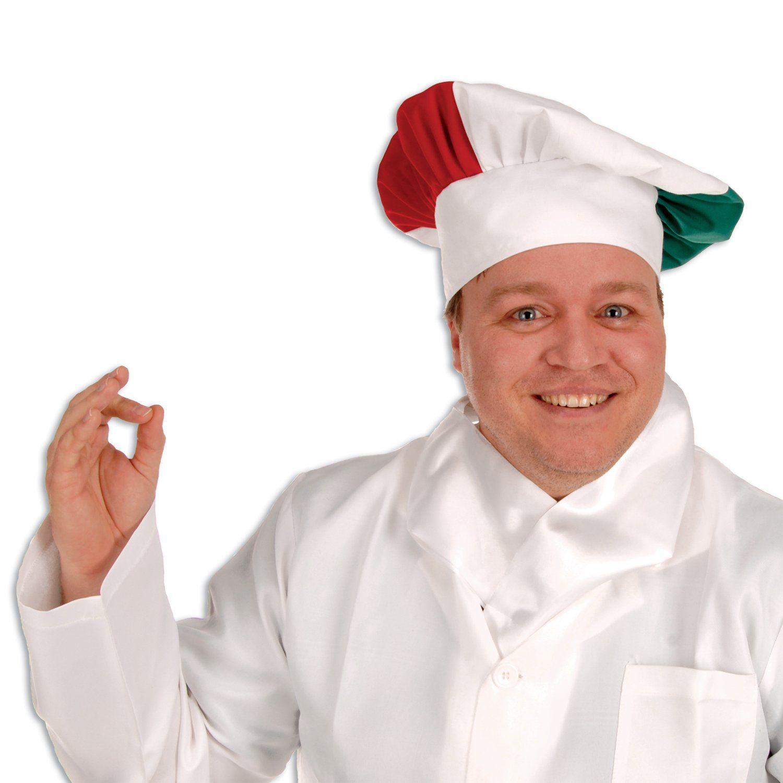 Oversized Fabric Chef S Hat Italian Case Of 12 Italian Themed Parties Chefs Hat Italian Costume