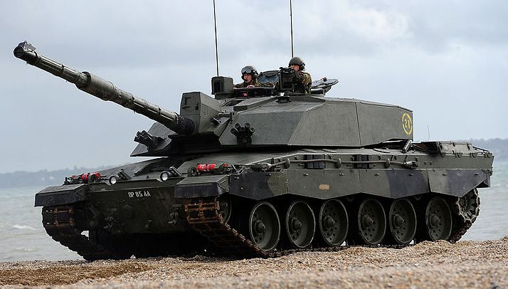 114fb6094a22 Challenger 2 in an amphibious demonstration