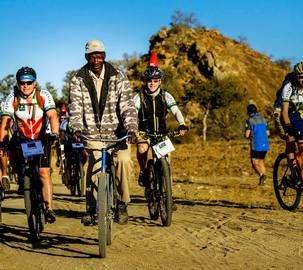 Riding in rural southern Africa (Matabeleland, Zimbabwe)