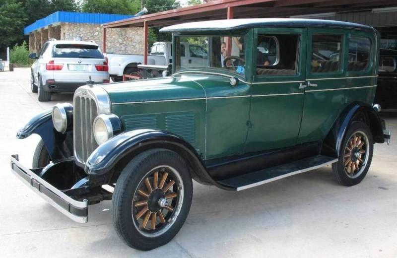 Roger Dean Chevy >> chandler cars | 1927 chandler standard 6 4 door sedan 1927 ...