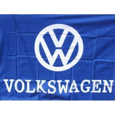 Neoplex Volkswagen Traditional Flag Wayfair In 2020 Blue And White Flag Volkswagen Neoplex