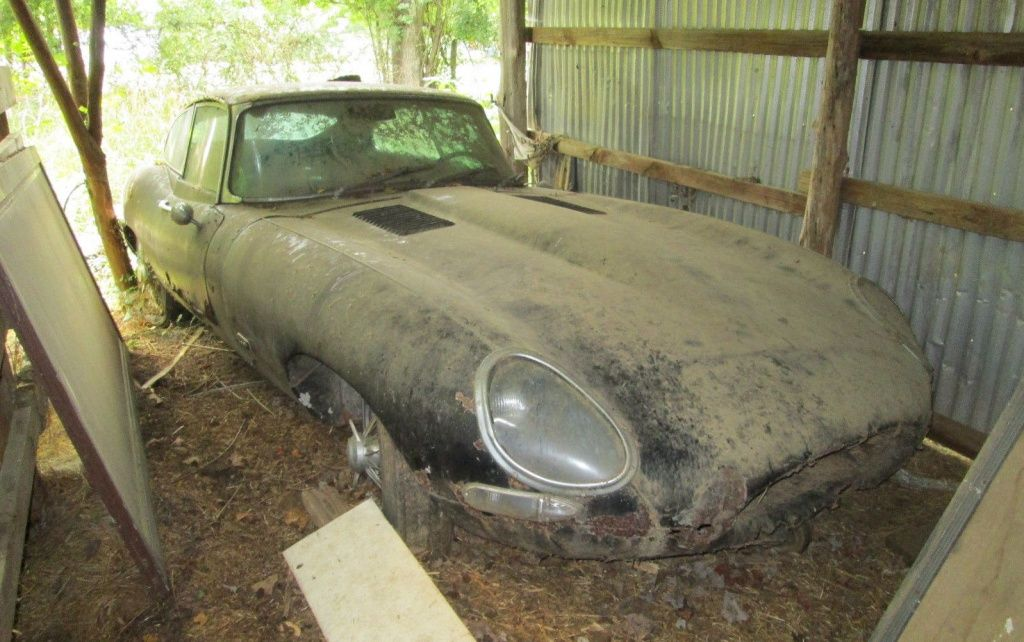 1963 Jaguar E Type Barn Find