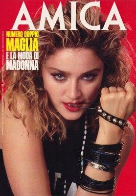 Madonna Poster RARE Vintage 1985 Amica   #madonna #mdna #queen #blonde #music #madonnamdna #pop #cover #magazine #covermagazine  http://www.madonnaweb.com.ar
