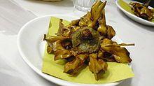 Fried Jewish artichokes