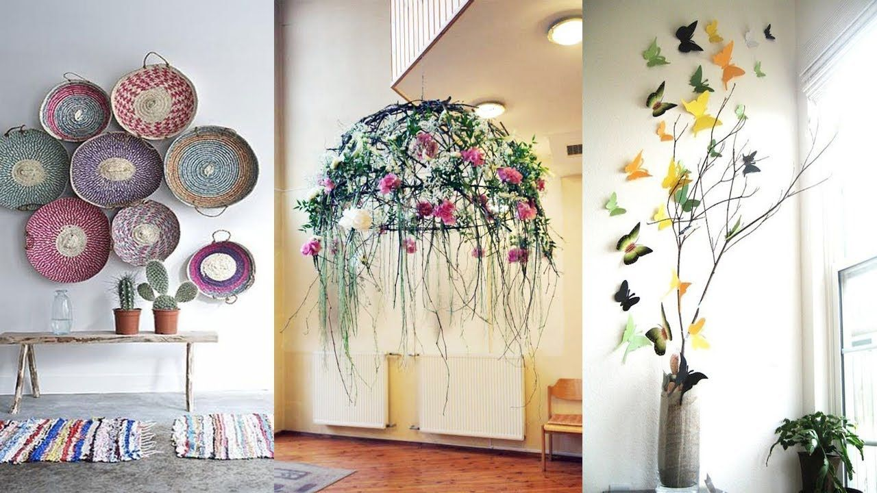 DIY ROOM DECOR! 10 Easy Crafts Ideas at Home for Teenagers - YouTube ...