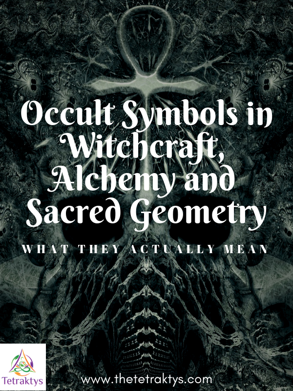Occult Symbols in Witchcraft, Alchemy and Sacred Geometry
