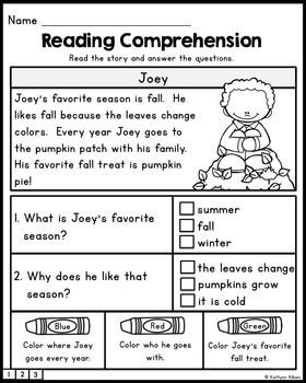 FREE Reading Comprehension Practice Passages | Main Idea Reading ...