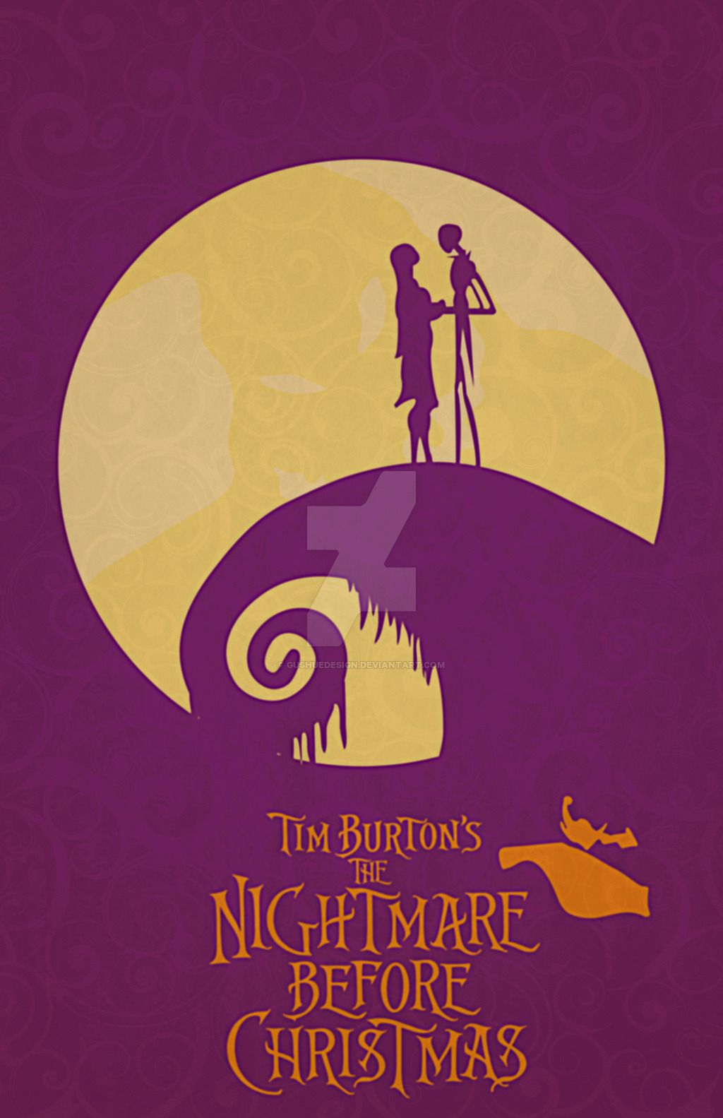 The Nightmare Before Christmas by GushueDesign | Movie Poster Art ...