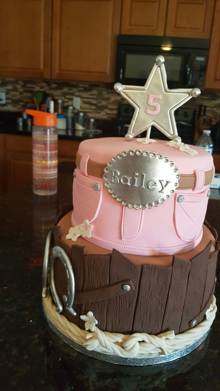 Cool Cowgirl Cake Cake Provided By Pixycakes Would Look Awesome In Blue Personalised Birthday Cards Bromeletsinfo