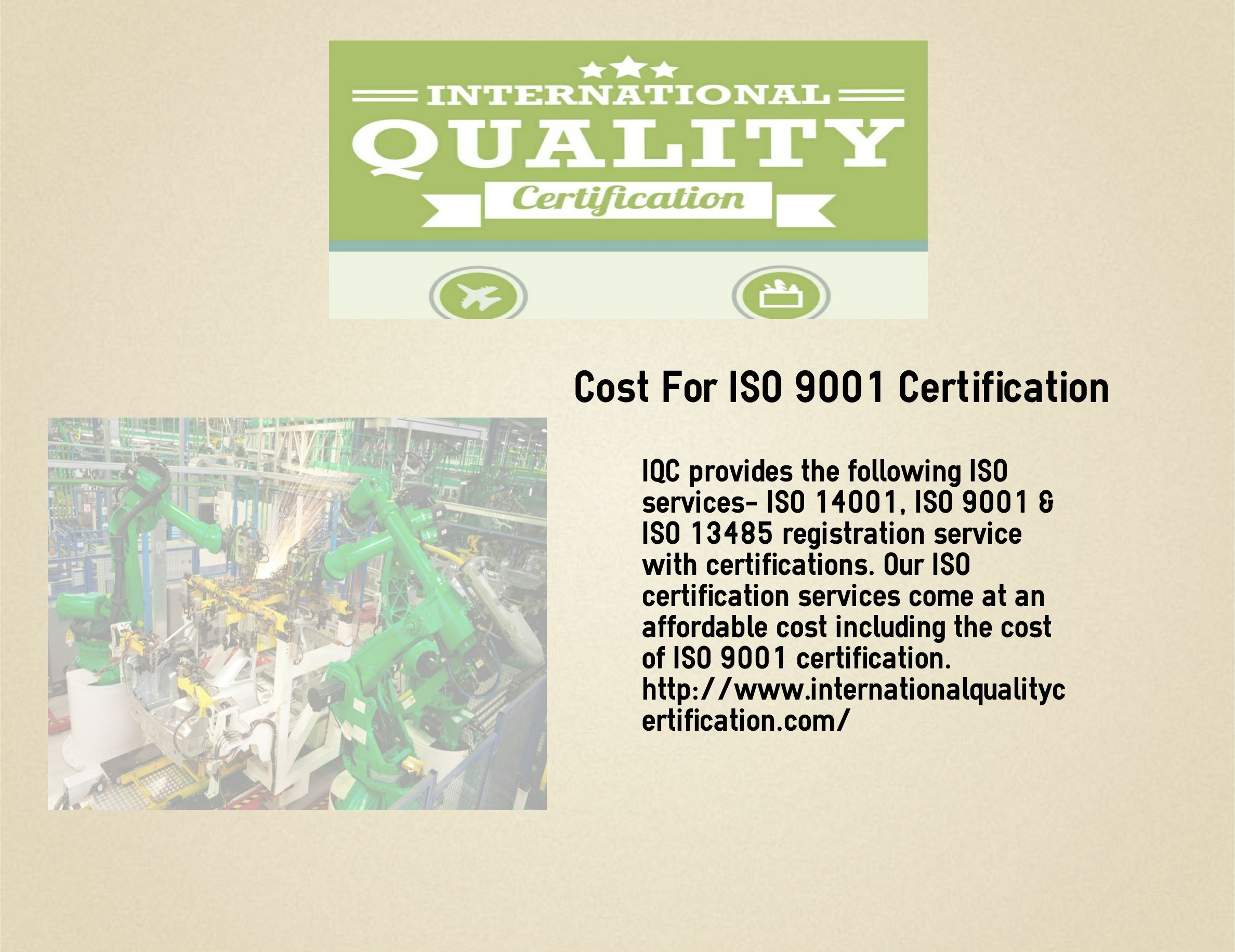 Iqc Provides The Following Iso Services Iso 14001 Iso 9001 Iso