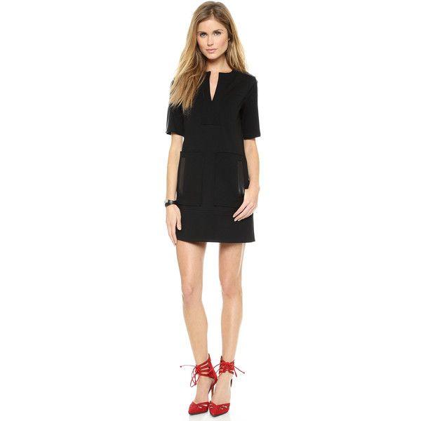 Nanette Lepore Academic Shift Dress - Black