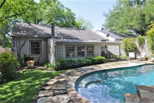 backyard salt water pool. The Salt Water Pool Has An Attached Spa, Which Can Be Heated. Cold At Night? Light Up Fire Pit! Lovely Waterfall And Landscaping Completes T\u2026 Backyard