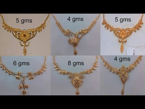 dde9829e080 Latest Gold Necklace For Women Under 10 Grams | Gold Necklace Designs With  Weight | Today Fashion - YouTube