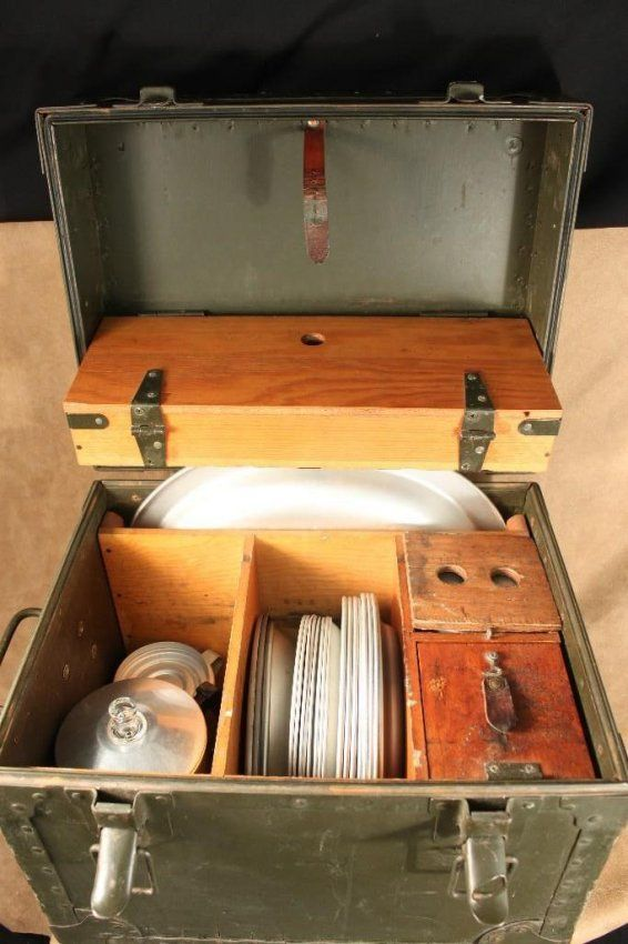 U S Army Mobile Mess Kit Military Pinterest Army