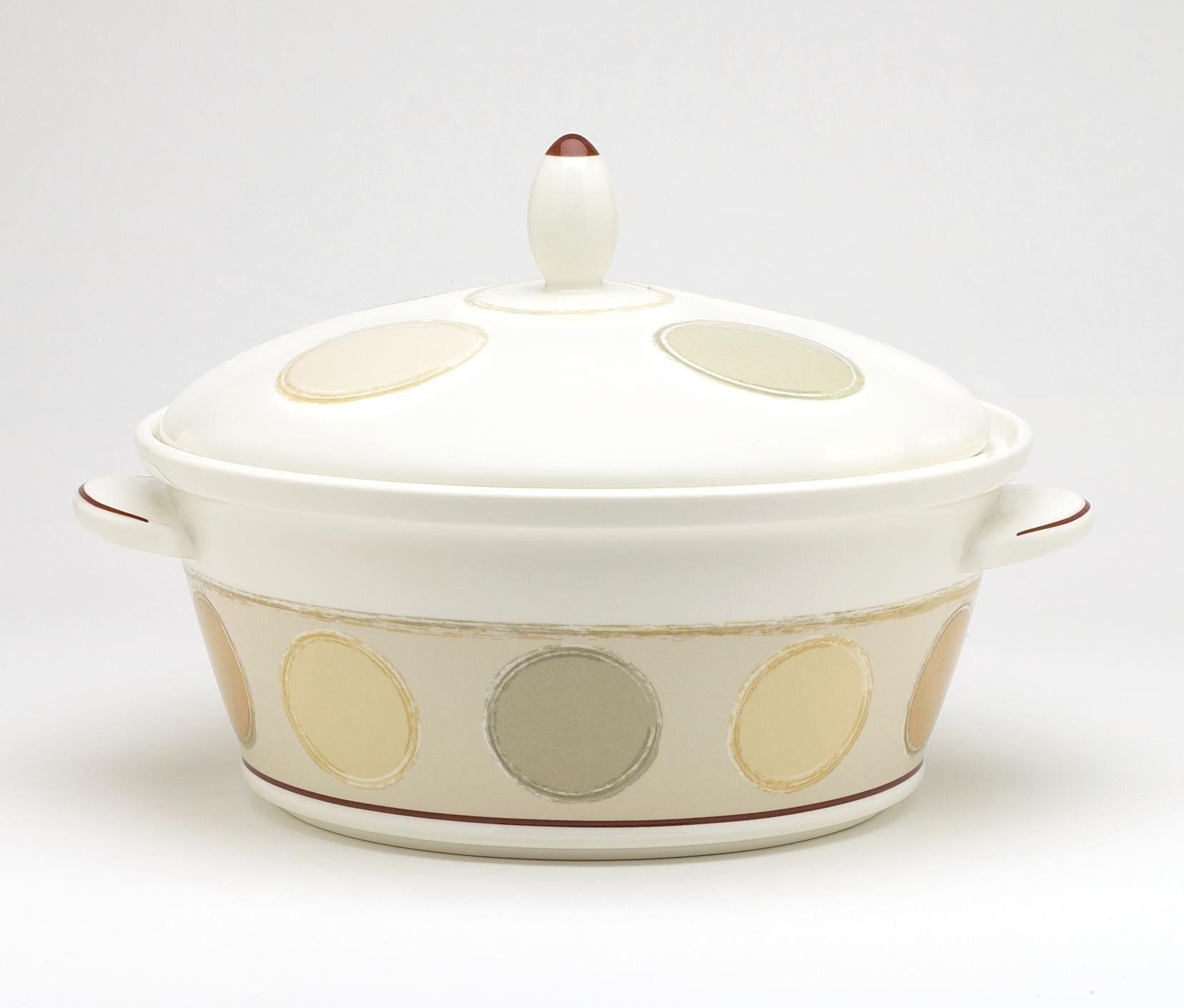 Mocha Java 80 oz. Covered Vegetable Bowl