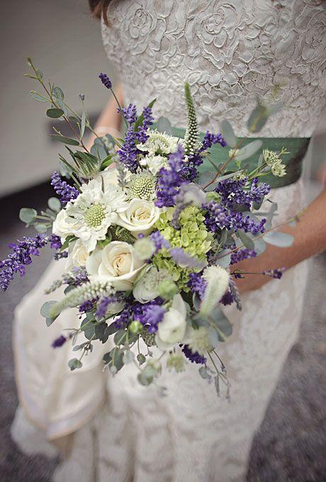 A Rustic Military Wedding In New Harbor Maine Rose Bridal Bouquet Purple Wedding Flowers Flower Bouquet Wedding