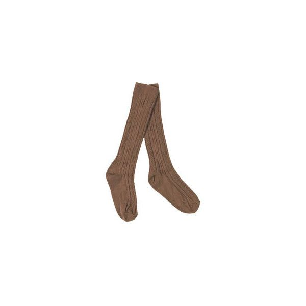 363a64dbd1 Girl Scout Shop - Brownie Knee Hi Socks (€1,63) ❤ liked on Polyvore ...