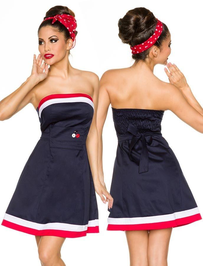 Vintage style klamotten  Marine Kleid - Uniform-Kleider - Vintage-Style - Ars-Vivendi ...