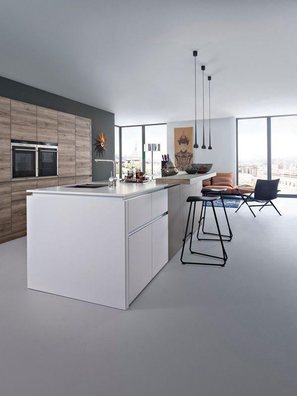 Synthia C Ceres C Laminate Modern Style Kitchen Kitchen Leicht Modern Contemporary Kitchen Interior Design Kitchen New Kitchen Designs