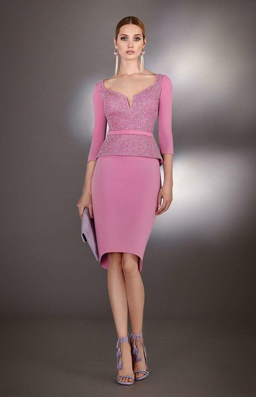 Vestidos elegantes para mujeres maduras, ¡la invitada perfecta ...