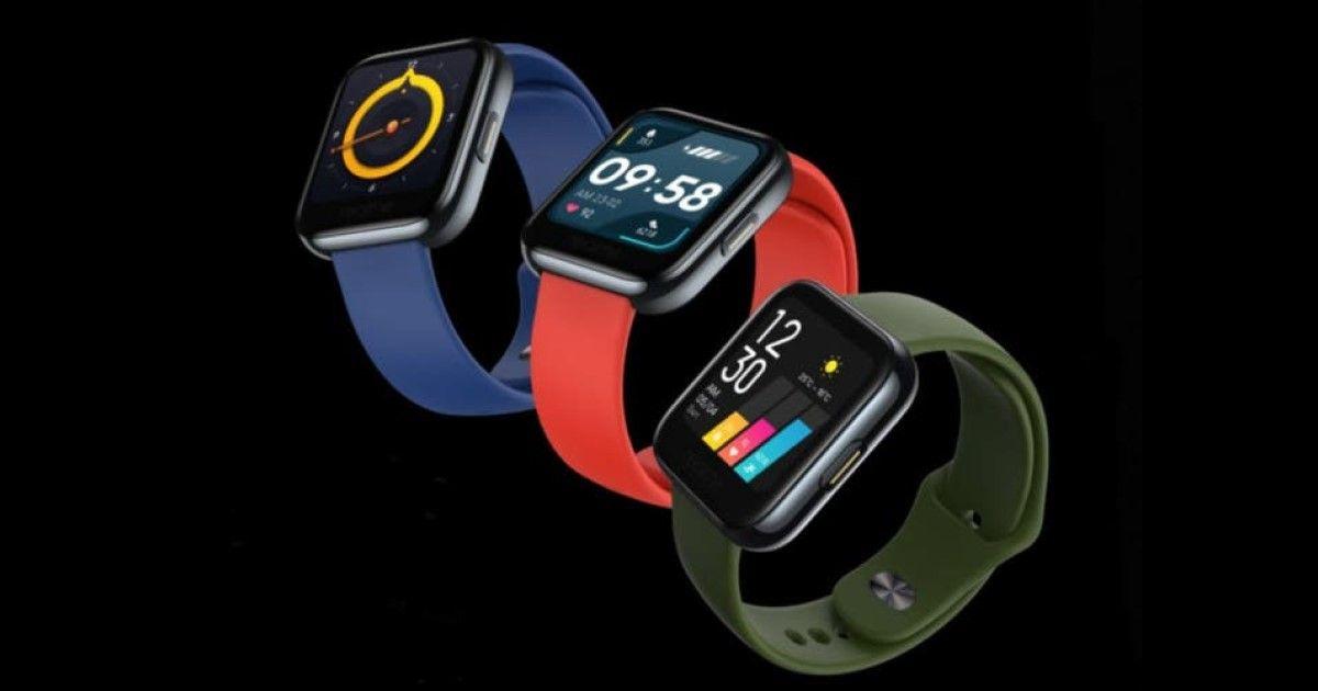 Realme stellt seine erste Smartwatch vor, eine neue Kopie der Apple Watch?