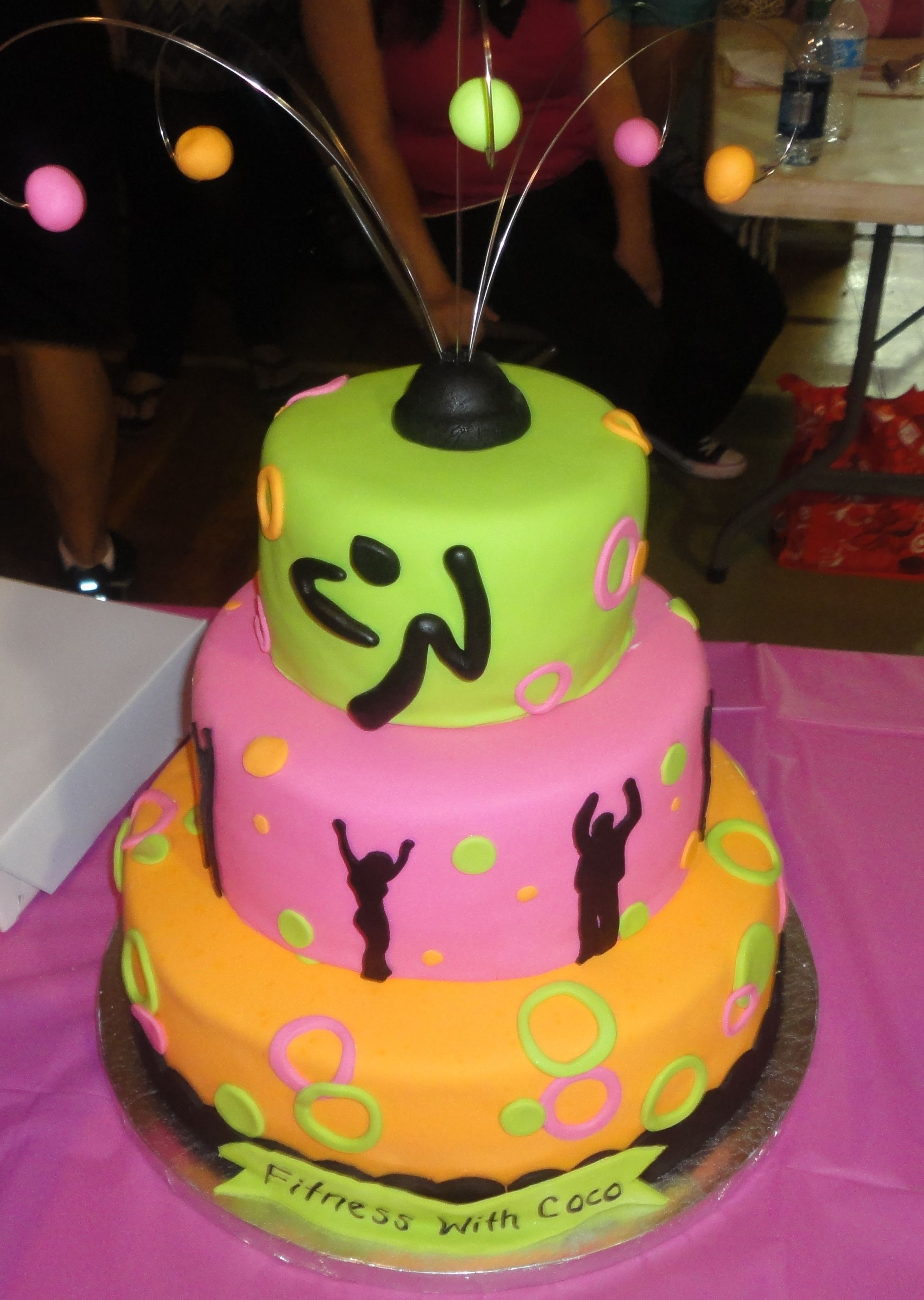 Gimnasio 9f Of Zumba Cake Zumba Cake Ideas Pinterest Tortilla