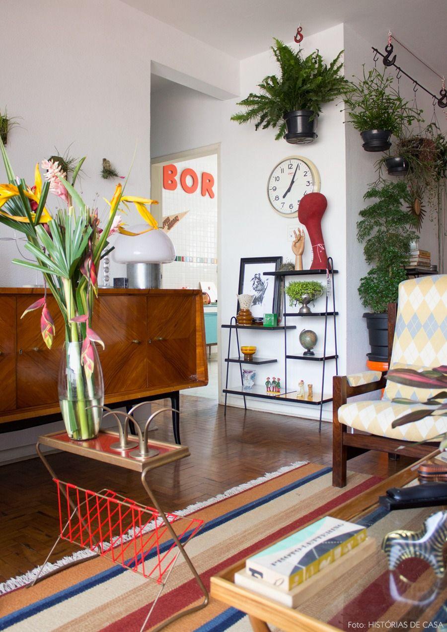 Vocaç u00e3o Vintage Decoraç u00e3o Salas de Estar Apartamento vintage, Decoracao apartamento e  # Decoração De Reveillon Na Fazenda