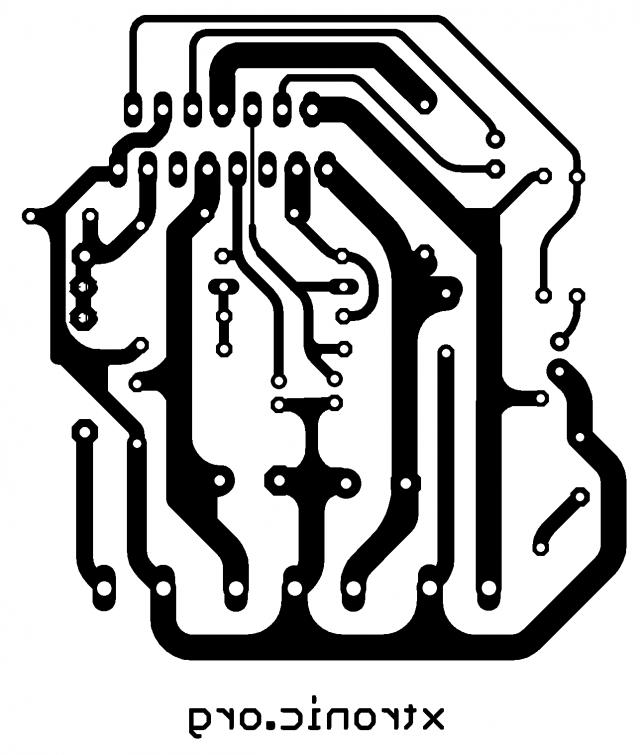tda7293 audio power amplifier 100 watts pcb 700x826 audio amplifier mono with ic tda7293 100