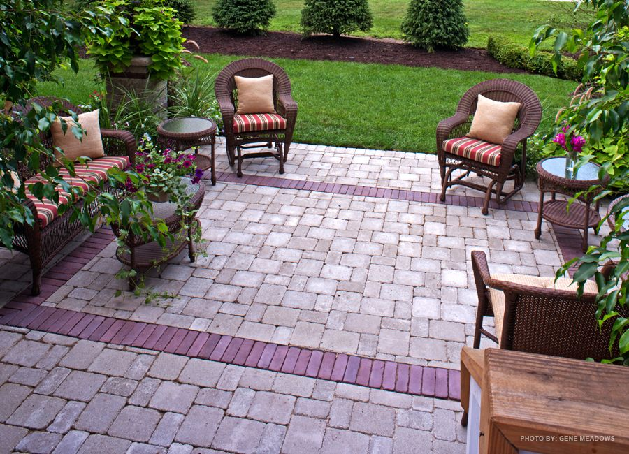 Relax All Hours Of The Day On This Stunning Backyard Stone