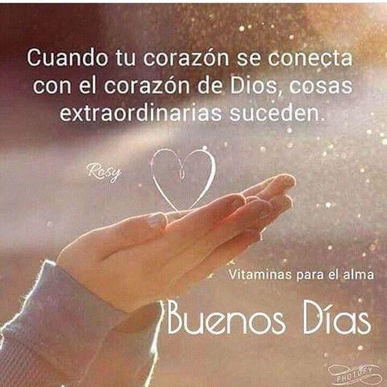 Sanando con Los Ángeles y Dios (@sanandoconlosangeles) Cuando tú corazón ❤️ se conecta con el corazón ❤️ de #Dios, cosas extraordinarias suceden…