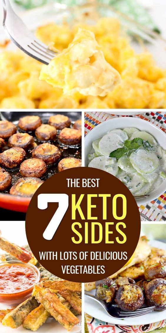 The 7 Best Keto Side Dishes with Lots Of Vegetables! images