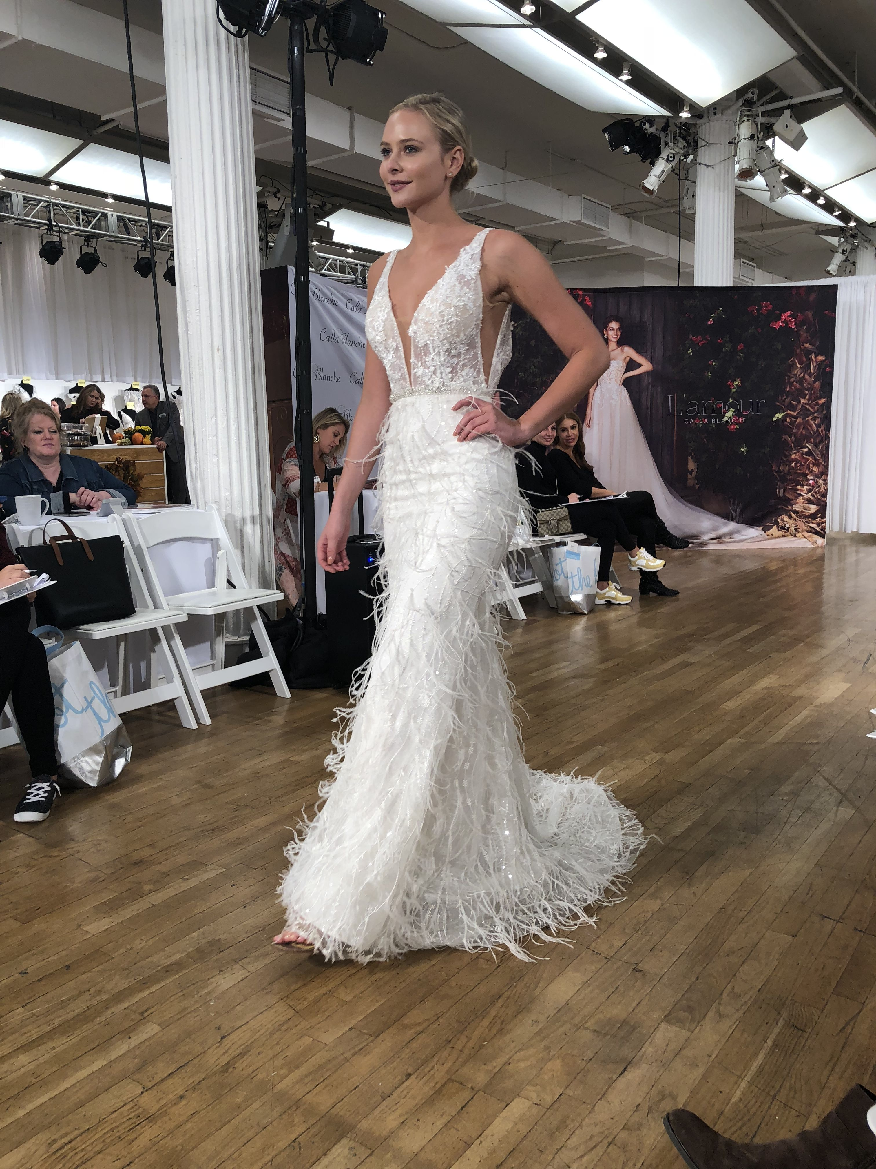 7e248adb23 Calla Blanche Bridal Gown. Visit Bridal Reflections for more information.