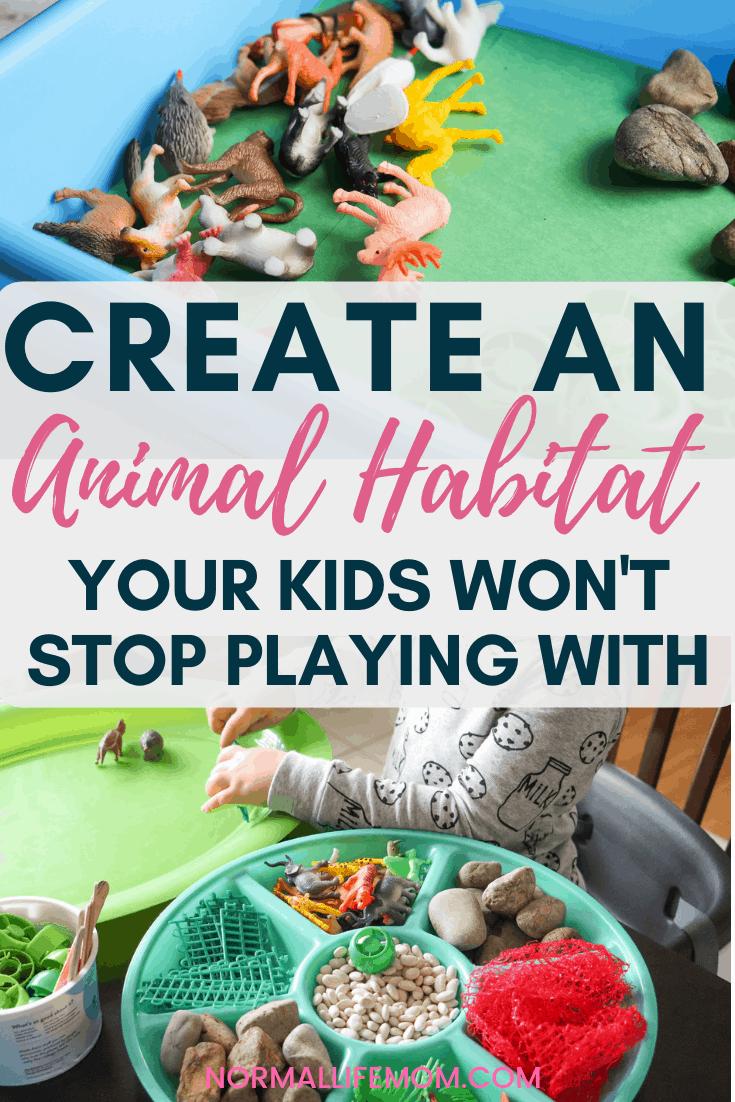 Safari Animal Habitat Activity Habitat Activities Animal Activities For Kids Animal Habitats