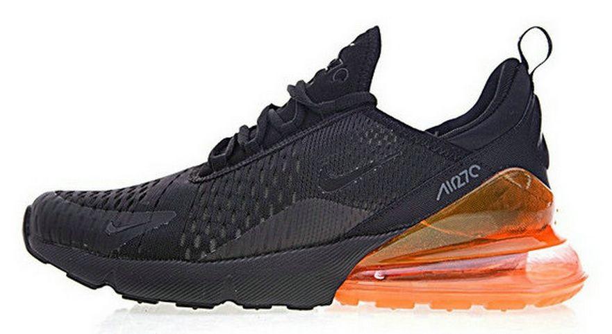 Nike Air Max 270 Black Orange Ah8050 008 | vipairmax270
