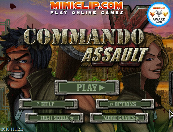 Play CommandoAssault. Commando joins forces with his