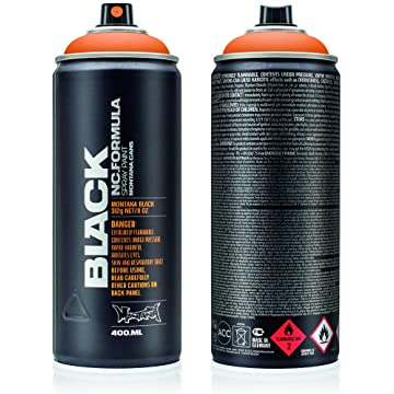 Amazon Com Shopping Cart Black Spray Paint Bottle Painting Spray Can