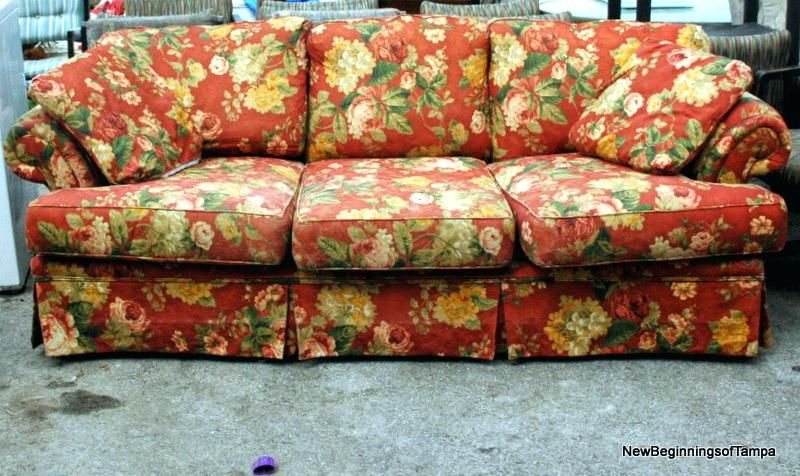 Flower Print Sofa With Images