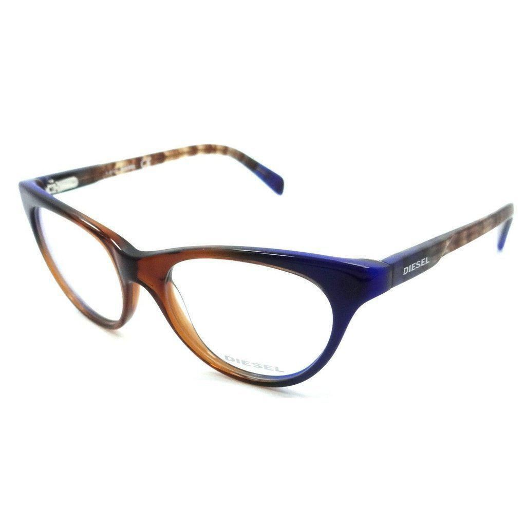 5f563b3dfbe2 Diesel Rx Eyeglasses Frames DL5056 092 50-16-140 Brown   Blue Gradient