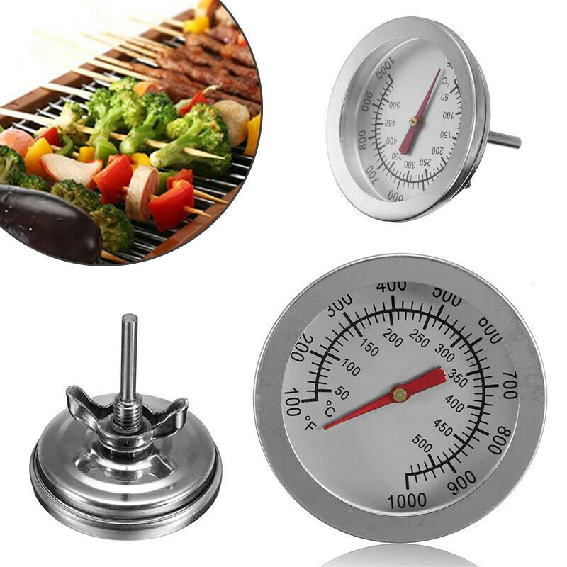 52mm Stainless Steel Barbecue Bbq Smoker Grill Thermometer Temperature Gauge Us Smokers Ideas Of Smoke In 2020 Bbq Grill Smoker Grill Smoker Electric Meat Smokers