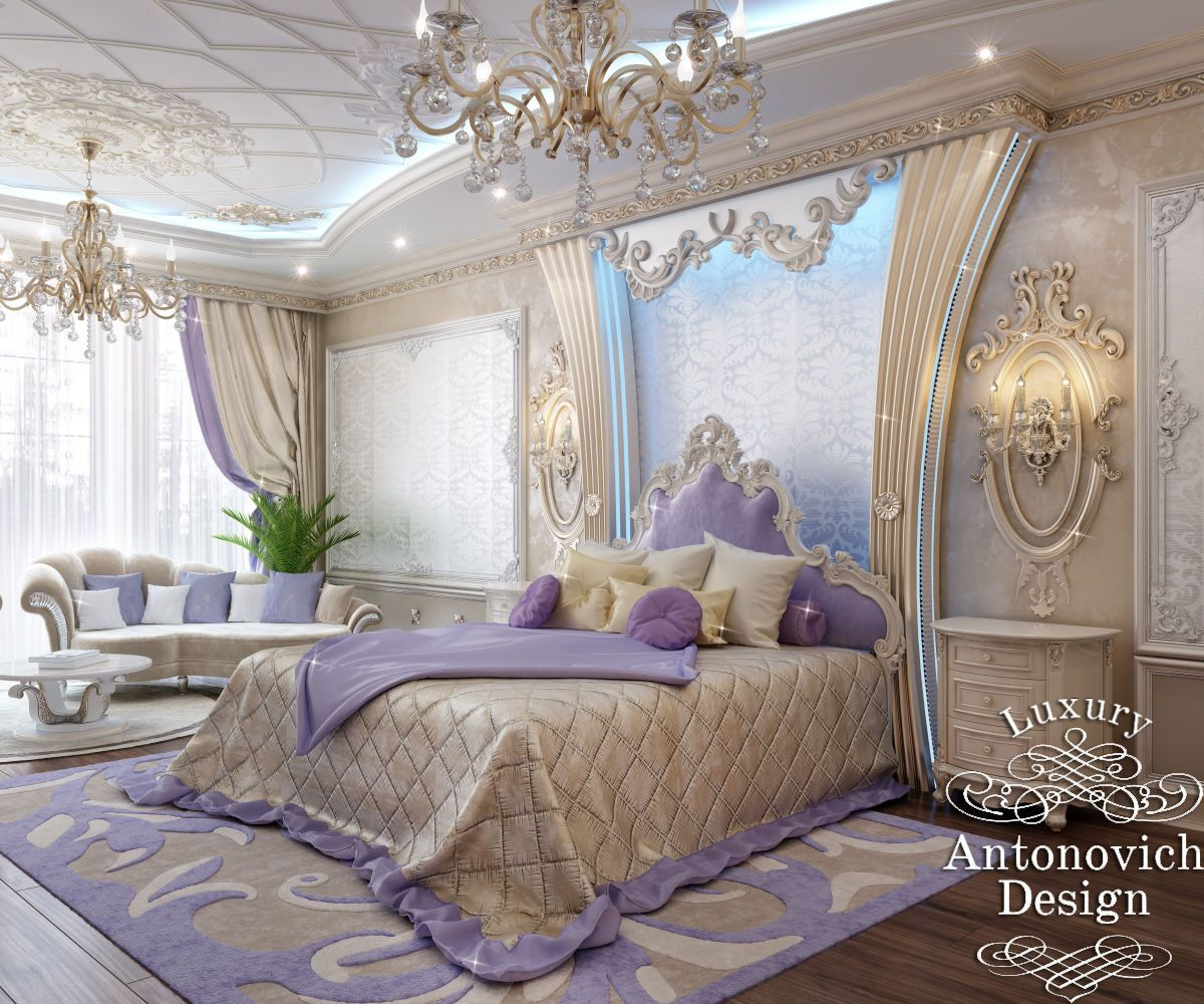 Luxury antonovich design villa in iran 1200 1000 for House interior design romantic bedroom