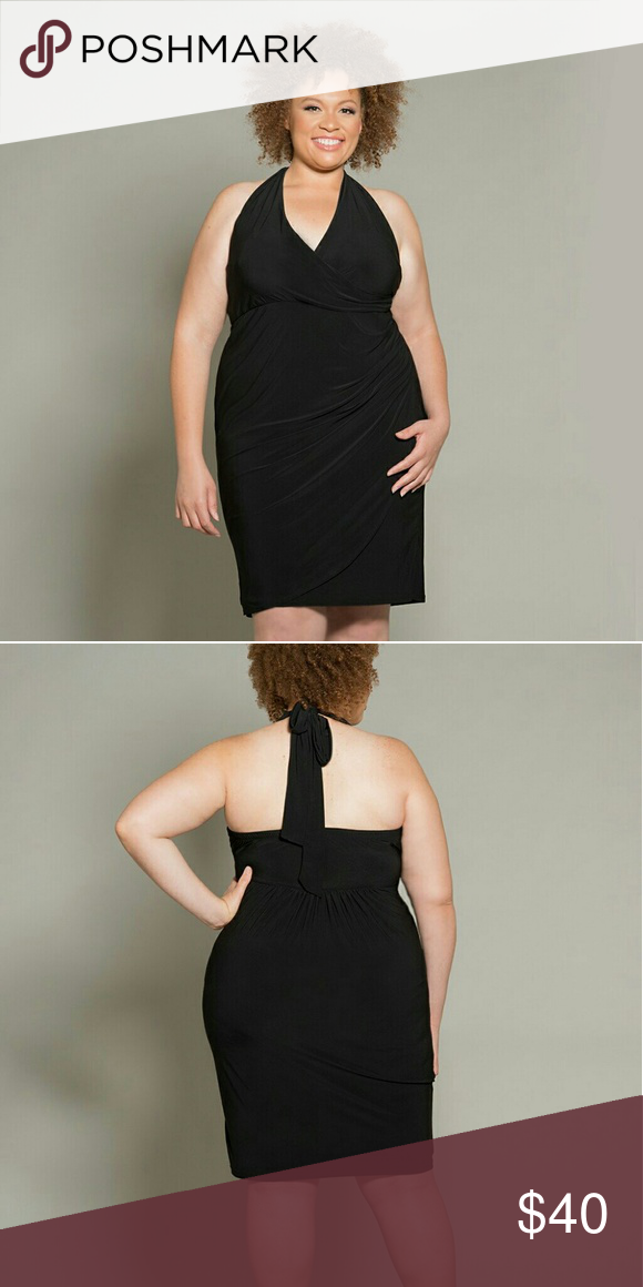 Plus size Halter dress black sz 1X thru 6X NWT | Perfect match ...